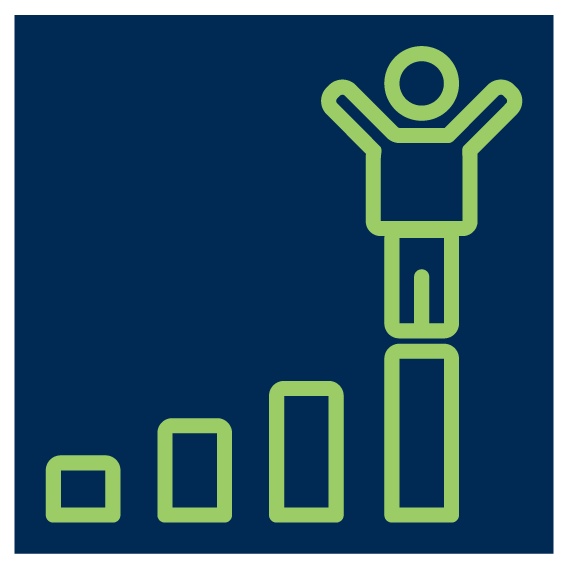 success graph icon